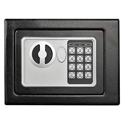 Stalwart 65-E17-B Electronic Deluxe Digital Steel Safe