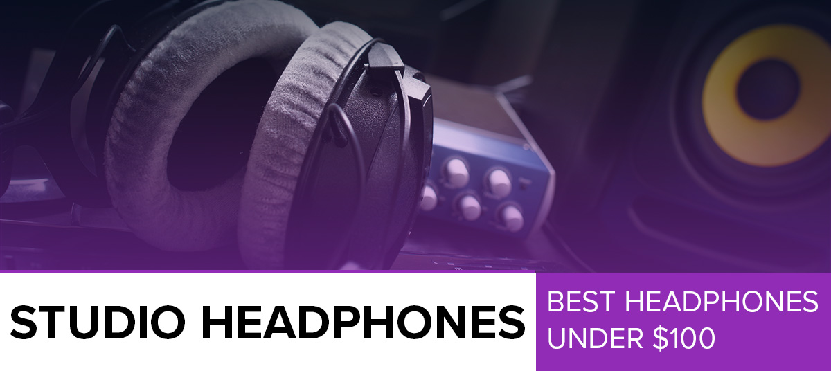 Best studio headphones under 100