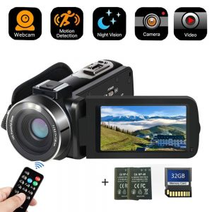 Camcorder Digital Camera with IR Night Vision is the Best Camcorder Under 200 USD