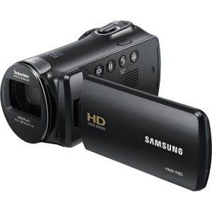 Samsung HMX-F80 Flash Memory Camcorder Black is the Best Camcorder Under 200 USD
